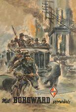 Borgward soldados alemanes 2. guerra mundial chapa escudo Escudo Tin sign 20 x 30 cm