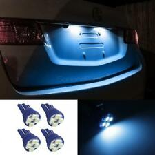 4 x Ice Blue LED T10 194 2825 168 158 3528 SMD Wedge License Plate Light Bulbs