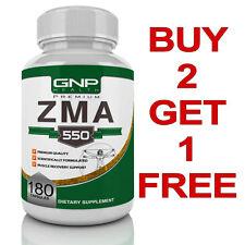 ZMA - 180 Capsules - Zinc - Magnesium - Vitamin B6 - GNPHEALTH