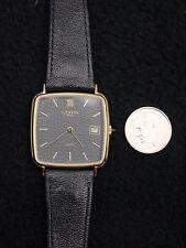 Lanvin / Michel Herbelin Men's Watch Gold Seal Skin France, Swiss 7 Jewel