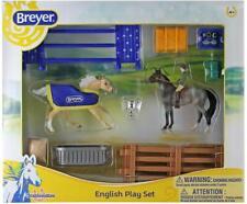 Breyer English Play Set Horse & Rider Toy Stablemates Series Model #6027