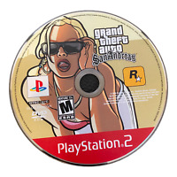 Grand Theft Auto San Andreas Disc Only PS2 PlayStation 2 Game
