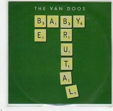 (GC792) The Van Doos, Baby Be Brutal - DJ CD