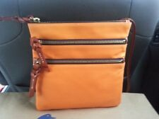 Dooney & Bourke North/South  Leather Triple Zip