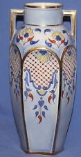 Antique Floral Hand Made Porcelain Vase