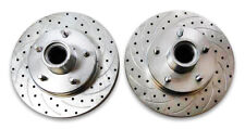"""79 - 81 Camaro Firebird 11"""" Rotor Set 5 on 4.75"""" Slotted and Drilled"""