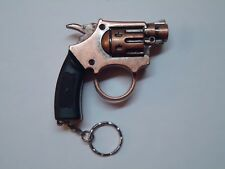 Collectible GUN / PISTOL Cigar LIGHTER new REFILLABLE adjustable RED TORCH FLAME