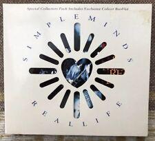 Simple Minds - Real Life - Die-Cut Digipak CD Single - 1991 - VSCDG 1382