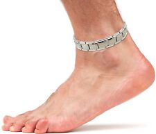 Smarter LifeStyle Elegant Titanium Magnetic Therapy Anklet For Men and Women