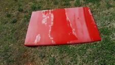 1988 MAZDA B2200 5 SPEED OEM HOOD BONNET RED USED PICK UP TRUCK RUST FREE GOOD