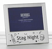 Baby 1st Scan Photo Frame Girl Boy Keepsake Gift Satin Silver/brushed Alu 77216