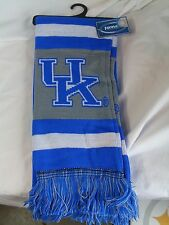 "NWT NCAA 2012 TEAM STRIPE ACRYLIC SCARF 64""x7"" - KENTUCKY WILDCATS"