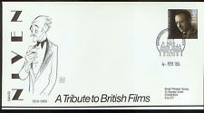 David Niven Original Britain Stamp on Al Hirschfeld Designed First Day Cover