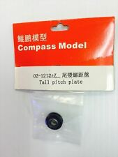 02-1212+Z Compass Model RC Helicopter Knight 50 Tail Pitch Plate New In Package