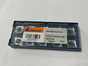 10pcs GARANT CCGT 120404-AM HU7310