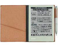 SHARP Electronic Memo Pad WG-S30-T Brown From Japan Free Shipping