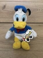 GORGEOUS **WALT DISNEY WORLD** Donald Duck soft toy With Tags Plush