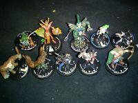 Heroclix 10 Piece lot Heroclix Figures