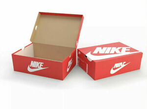 NIKE ORIGINAL RED EMPTY SHOE/Trainers BOX