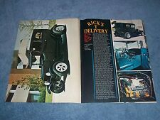 """1927 Ford Model T Delivery Vintage Street Rod Article """"Rick's T Delivery"""" Tudor"""