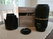 Tamron SP 70-300mm f/4-5.6 Di VC USD Lens for Canon - Excellent Condition!