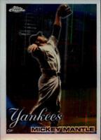 2010 Topps Chrome Baseball #7 Mickey Mantle New York Yankees