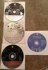 Apple/Mac Operating System CDs and DVDs - Misc. Lot of 9