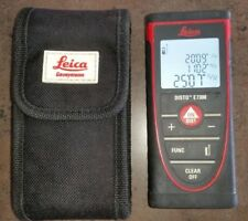 Leica Disto E7300 Laser Distance Meter Used w/ Soft Case