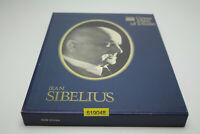 Time Life Records Great Men Of Music Jean Sibelius 4 Casstte Box Set