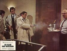 LINO VENTURA LE CLAN DES SICILIENS 1969 VINTAGE LOBBY CARD ORIGINAL #8