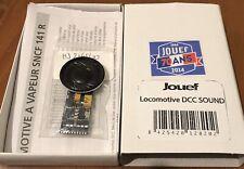 Décodeur Sound 141R charbon HJ2148/50 ESU LokSound V4 + HP Jouef HO SNCF  #roco