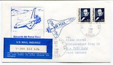 1990 Edwards Air Force Base Johns Hopkins Space Air Mail West Germany NASA USA