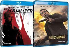 Blu Ray The Equalizer 1-2: Senza Perdono (2018) .......NUOVO