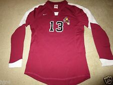 Arizona State Sun Devils #13 Volleyball Game Used Nike Jersey Womens L 12-14