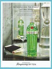 TANQUERAY No.TEN gin Print Ad