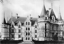 BR12265 Le Chateau d Azay le Rideau Face nord  real photo france