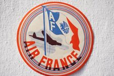 More details for air france airline aviation luggage label