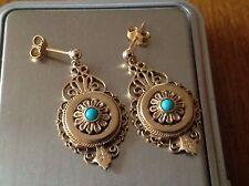 Turquoise Earring Art Deco Fine Jewellery
