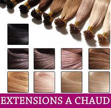 1G EXTENSIONS A CHAUD A KERATINE 100% NATURELS HAIR 1 gram PREMIER Prix
