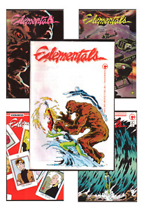 Elementals & Fathom #1-26 VF/NM 9.0+ 1985-1987 Comico Comics Bill Winningham