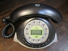 Retro style Table or desk top Telephone Push Button Black Rca Thomson, inc