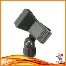Porta microfono supporto asta orientabile per palmare adattatore a pinza molla