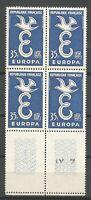 FRANCE Bloc de 4 n° 1174 Neuf ★★ luxe / MNH 1958 BDF
