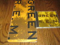 REM Green Longbox and Original cd Rare!