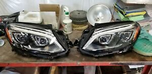 2018 mercedes benz GLE 43 AMG OEM pair of factory headlights.