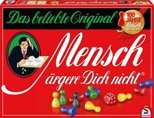 Schmidt Spiele Familienspiel Mensch ärgere Dich nicht Jubiläumsausgabe 49020