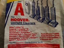 Upright Hoover Flat Vacuum Belt 38528-040 + Three (3) Type A Cleaner Bags