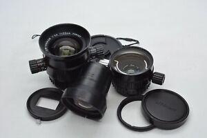 [N.MINT+] Nikon UW Nikkor 20mm f/2.8 + 28mm f/3.5 w/ Finder For Nikonos #3107
