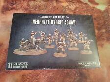 Warhammer 40K genestealer cultos neófito híbrido Squad-Nuevo y Sellado
