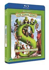 Shrek: The Whole Story (Region Fee) Blu Ray